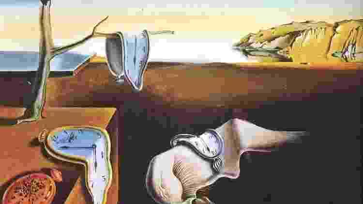 """A obra """"A Persistência da Memória"""", criada por Dalí em 1931 - Reprodução - Reprodução"""