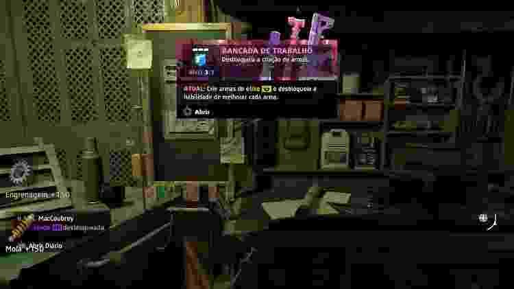 Far Cry bancada de trabalho - Reprodução - Reprodução