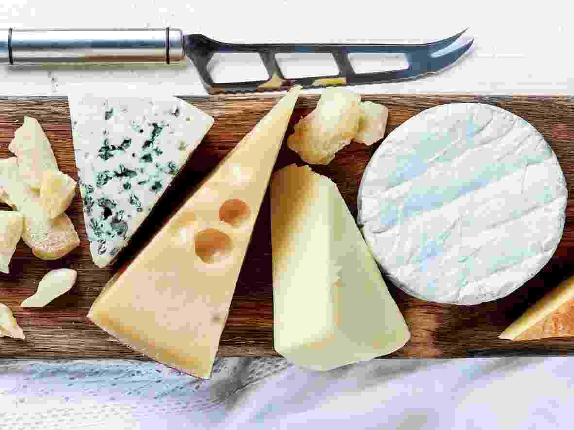 Diferentes tipos de queijo - iStock