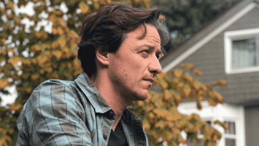 """James McAvoy em cena de """"It - Capítulo 2"""" - Reprodução/Instagram"""