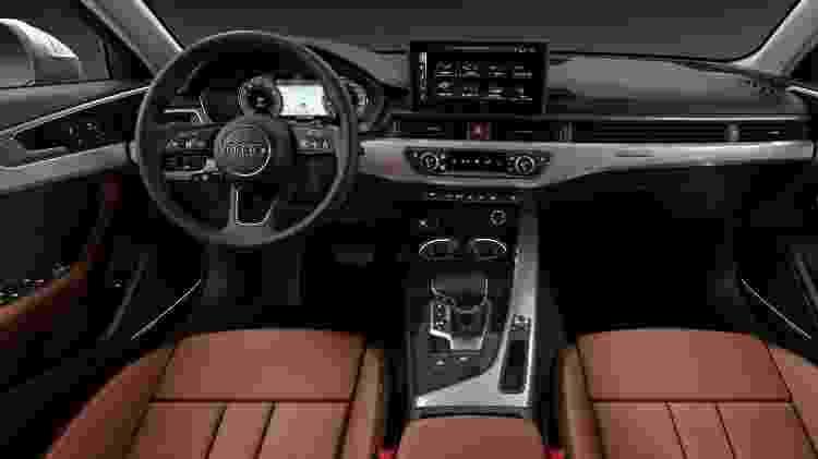 Interior mantém estilo, mas revestimentos melhoraram e tecnologia também vem do A7 - Divulgação