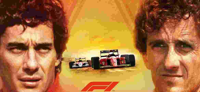 """Senna e Prost estão no modo """"Lendas"""" de """"F1 2019"""" - Divulgação"""
