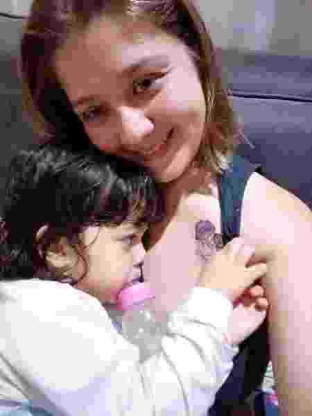 Nos primeiros anos de vida de Gabi, Kayra sentiu baixa autoestima materna - Arquivo Pessoal