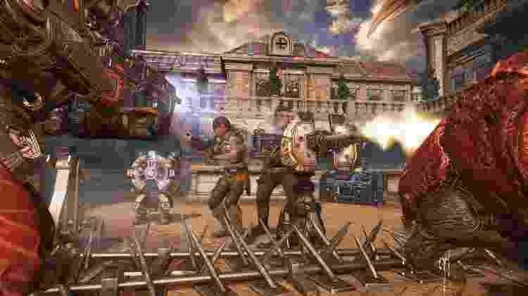 """O modo Horda surgiu em """"Gears of War 2"""" e passou a ser parte obrigatória do jogo - Divulgação"""