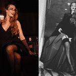 Mariana Ximenes foi a outra bruxa da noite no Baile da Bruxa - Reprodução/Instagram