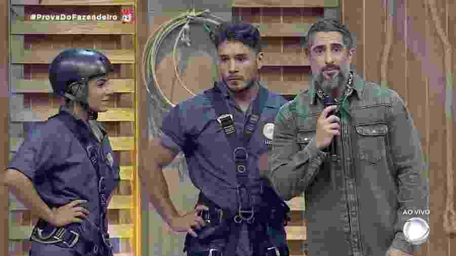 Hariany Almeida e Lucas Viana disputam última roça de A Fazenda 2019 - Reprodução/RecordTV