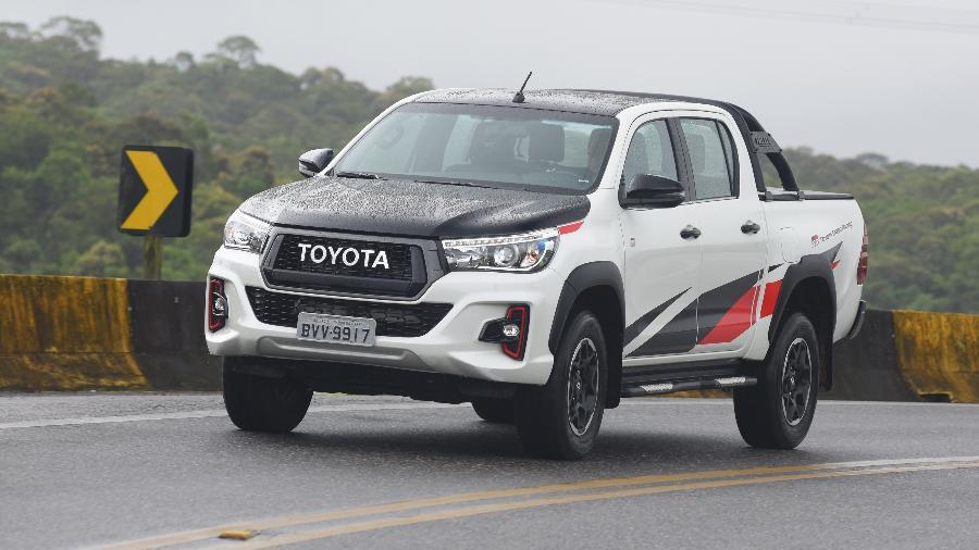 Toyota Hilux GR-S - Murilo Góes/UOL
