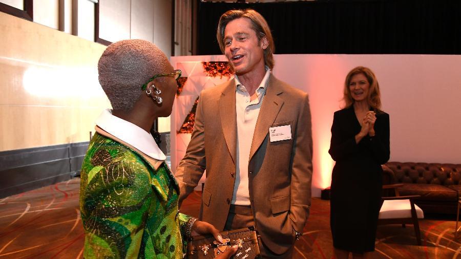 Brad Pitt será um dos apresentadores da edição desse ano do Óscar - Kevork Djansezian/Getty Images