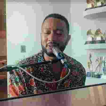 John Legend no Conversa com Bial - Reprodução/vídeo