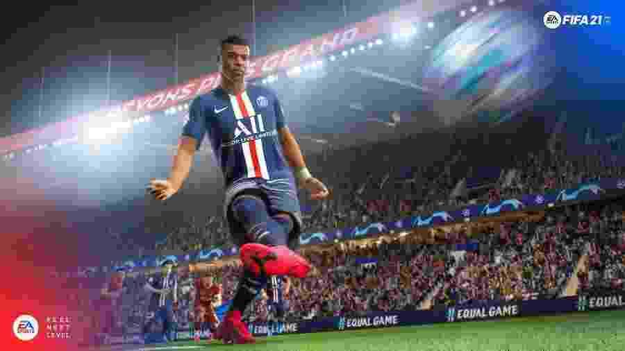 Mbappé é a estrela nas capas de FIFA 21 - Divulgação