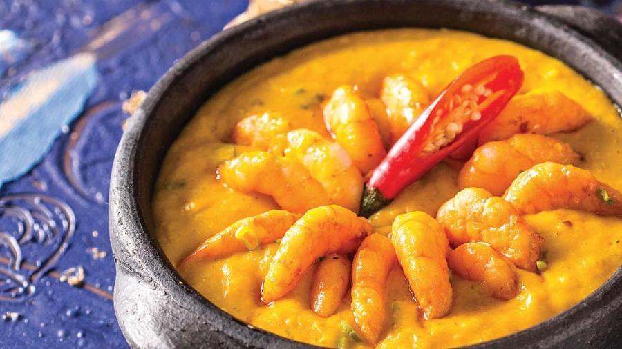 Bobó de Camarão mais cremoso é o prato ícone de Tereza Paim - Luna Garcia