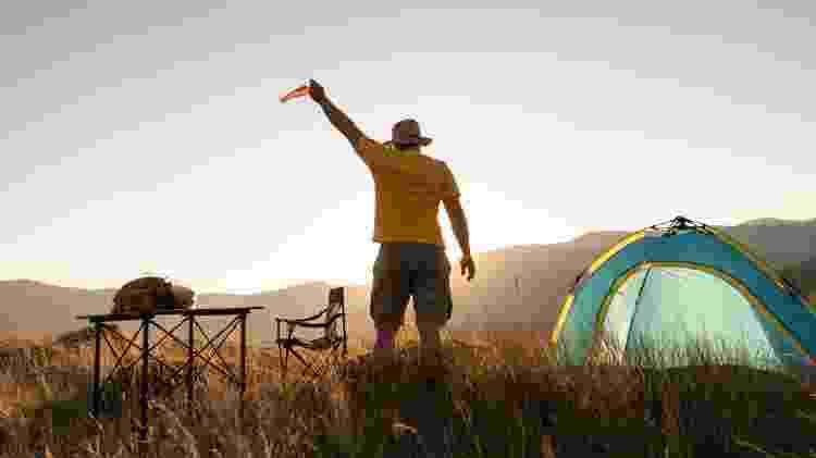 Passeios ao ar livre e nada de aglomeração fazem do camping uma das práticas de turismo mais seguras da pandemia - Getty Images - Getty Images