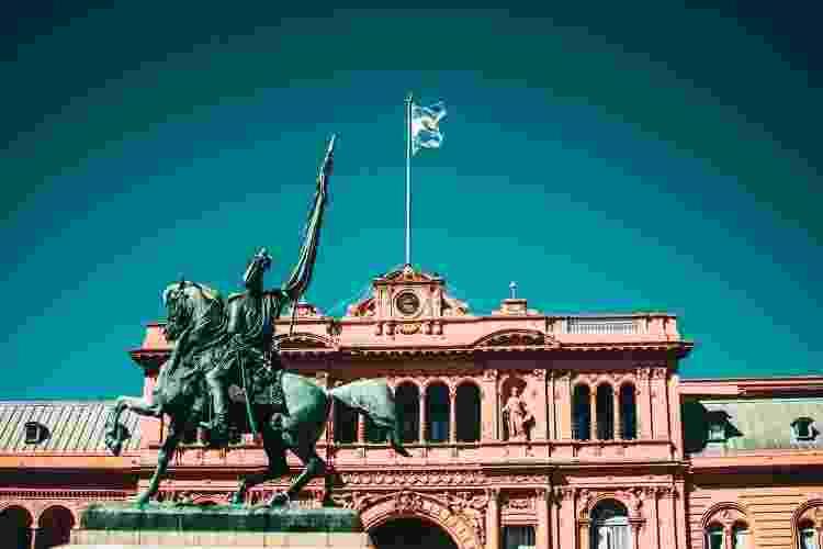 Casa Rosada, em Buenos Aires - Getty Images - Getty Images