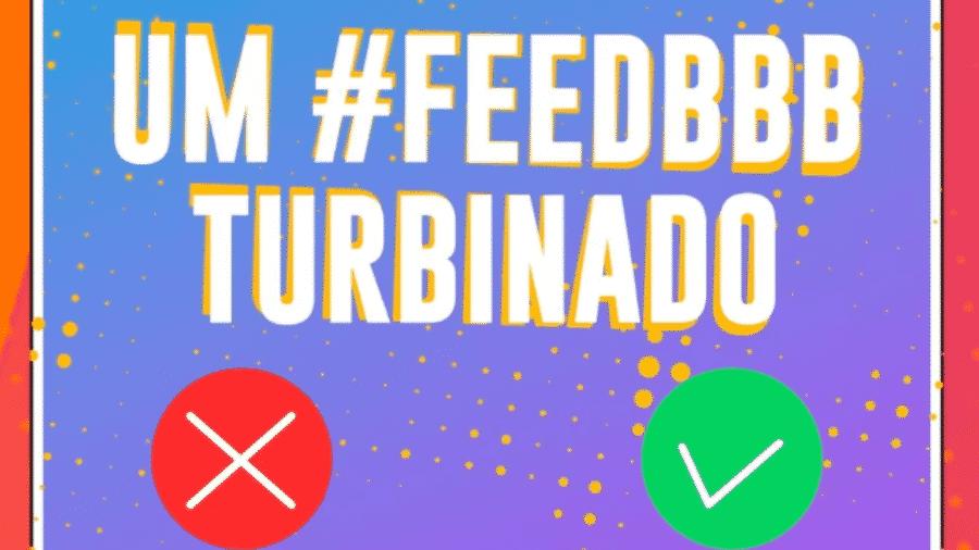 Globo publicou hoje atualizações do Feed BBB, rede social dos confinados no reality - Reprodução/GShow