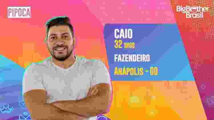 Caio, do BBB 21 - Divulgação - Divulgação