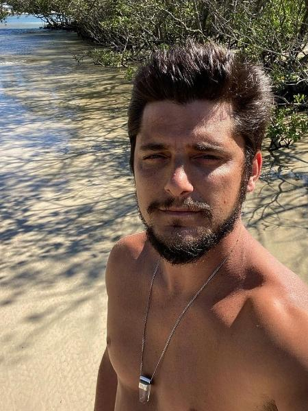 Bruno Gissoni visita reserva ambiental Restinga da Marambaia, no Rio - Reprodução/ Instagram @brunogissoni