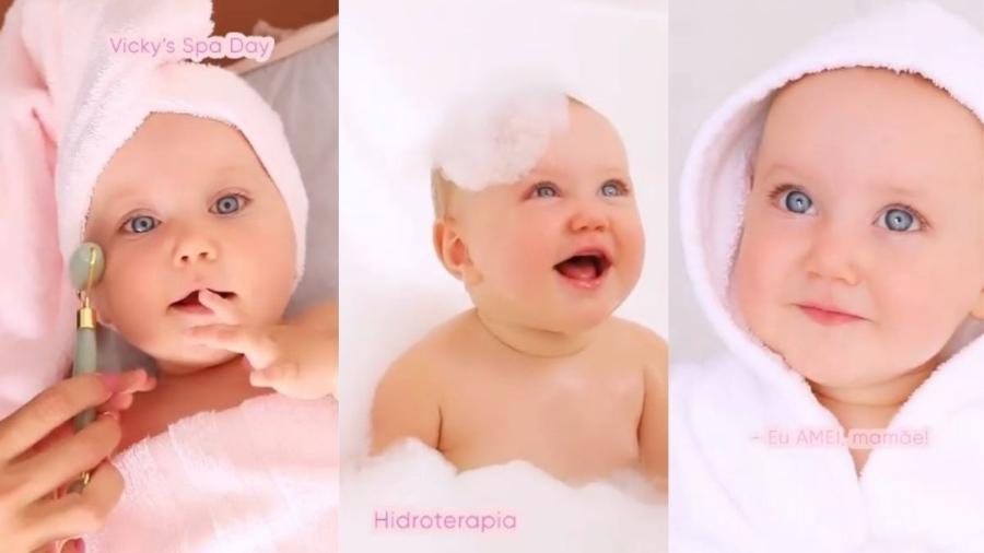 Vicky, filha de Roberto Justus e Ana Paula Siebert - Reprodução Instagram