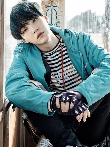 O cantor Suga do BTS - Reprodução/Instagram