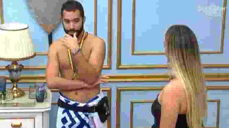 BBB 21: Gilberto diz que agiu certo em por Rodolffo no paredão - Reprodução/Globoplay - Reprodução/Globoplay