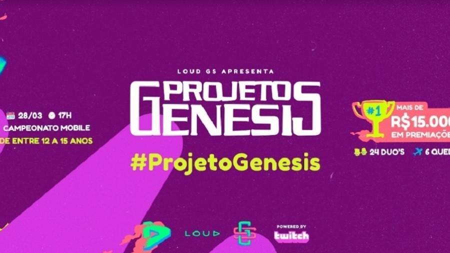Projeto Genesis - Divulgação/LOUD