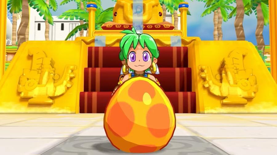 Jogo é remake de Wonder Boy, franquia clássica dos anos 80 e 90 - Reprodução/ININ Games