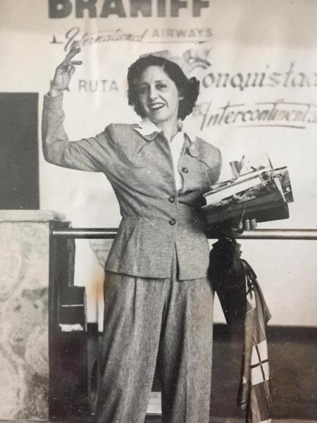 Anita Carrijo foi amarrada e asfixiada em seu apartamento no centro da capital paulista. O crime nunca foi resolvido   - BIBLIOTECA NACIONAL