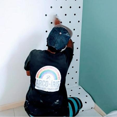 A empresa Arco-íris Obras e Reparos, do Rio, tem apenas funcionários LGBTQIA+ e só atende a esse público - Arquivo pessoal