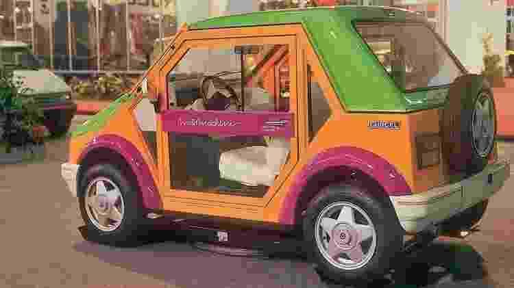 Versão 'civil', Motomachine foi apresentado alguns meses depois, no Salão do Automóvel de 1990 - Reprodução - Reprodução