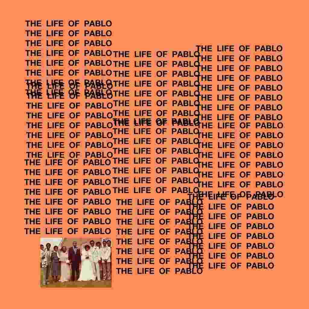 """Capa de """"The Life of Pablo"""", novo álbum do rapper Kanye West - Reprodução"""