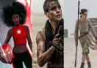 Gênero não é documento: Ícones da cultura pop em versões femininas - Montagem
