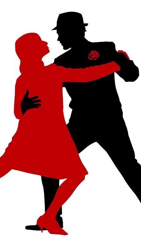 Estudo alemão constatou que o tango fazia diminuir o hormônio do estresse no casal - Getty Images