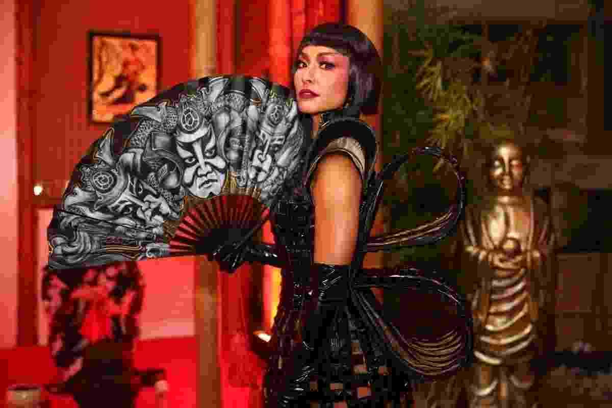 As Geishas, suas tradições e o estudo milenar da cultura, arte e dança são tema do tradicional Baile do Copa em 2017. Este ano, Sabrina Sato foi escolhida rainha do evento - Manuela Scarpa/Brasil News
