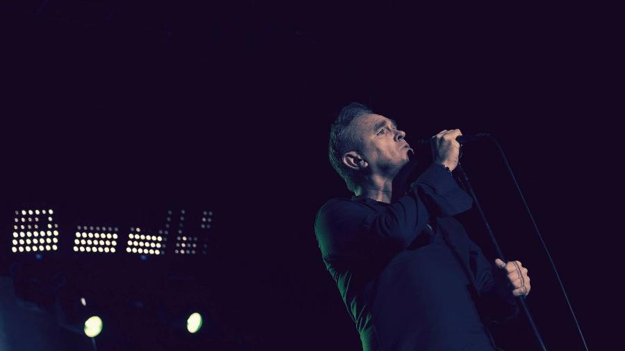 O cantor britânico Morrissey, ex-Smiths - Divulgação
