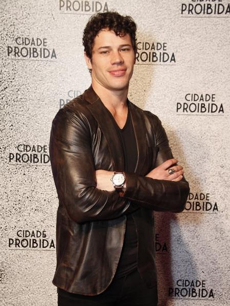 """José Loreto no lançamento de """"Cidade Proibida"""" - Marcos Ferreira/Brazil News"""