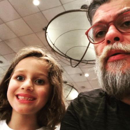Fabio Assunção com a filha, Ella - Reprodução/Instagram/fabioassuncaooficial