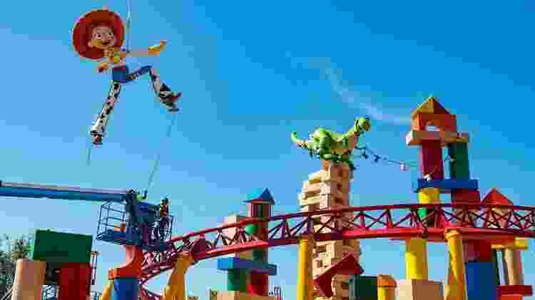 Toy Story Land, no Hollywood Studios - Divulgação - Divulgação