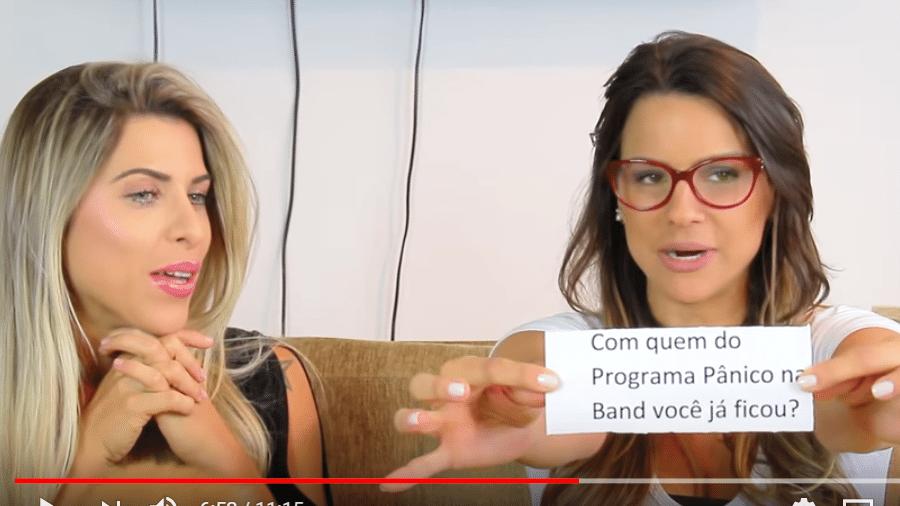 Ana Paula Minerato e Carol Dias - Reprodução/YouTube