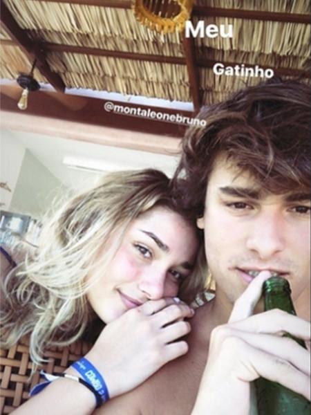 Sasha com o ator Bruno Montaleone - Reprodução/Instagram/sashameneghel