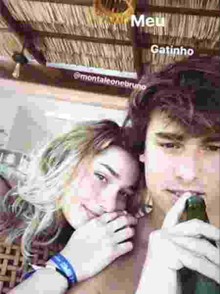 Sasha posta foto com o ator Bruno Montaleone - Reprodução/Instagram/sashameneghel