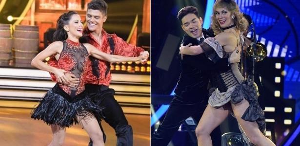 """Maytê Piragibe com Paulo Victor e Yudi Tamashiro com Bárbara Guerra: os campeões do """"Dancing Brasil"""""""