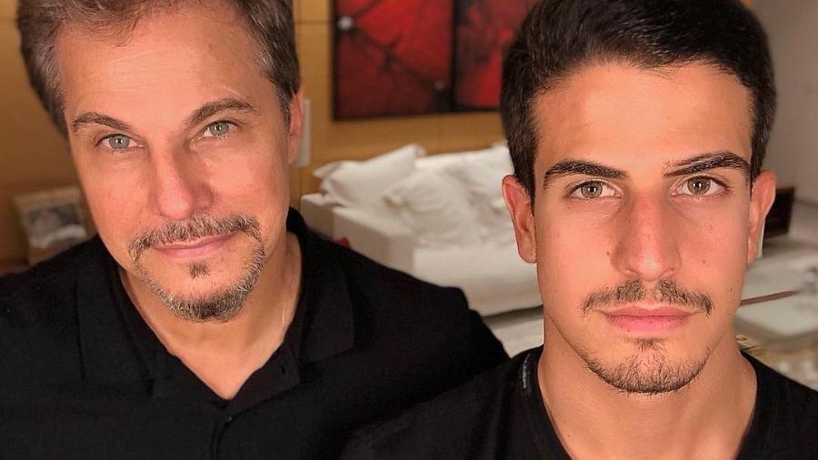 Edson Celulari posa com o filho, Enzo - Reprodução/Instagram/edsoncelularireal