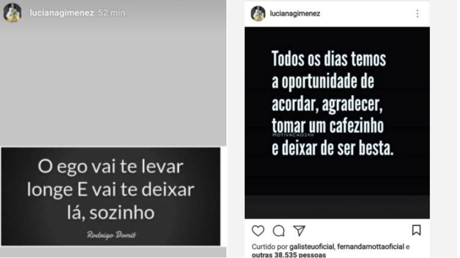 Luciana Gimenez posta reflexões no Instagram