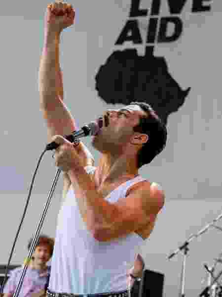 Rami Malek como Freddie Mercury em filme - Reprodução/Empire
