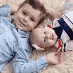 Felipe e Maria Luiza, filhos do goleiro Cássio - Reprodução/Instagram