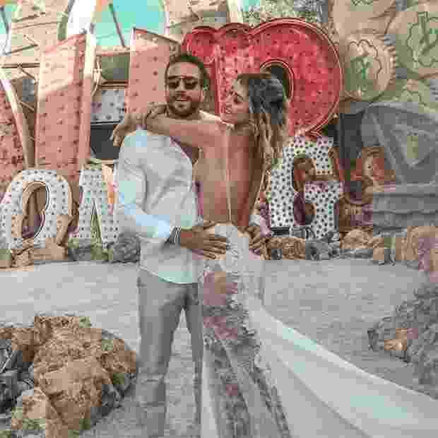 Destination Wedding: Gabi Pugliesi e Erasmo Viana renovam votos em Vegas - Reprodução/Instagram