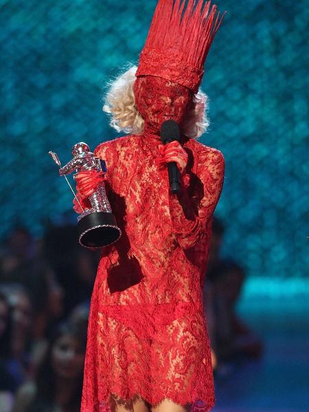 Lady Gaga no VMA 2009 - Christopher Polk/Getty Images