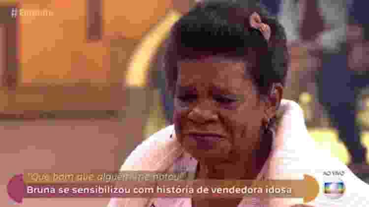 """Dona Divina emocionou convidados do """"Encontro"""" com sua história de vida - Reprodução/Globo - Reprodução/Globo"""