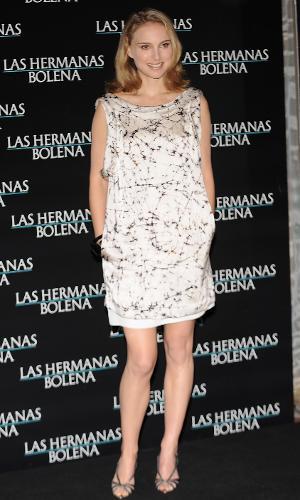 """Natalie Portman na première de """"A Outra"""" (2008)"""