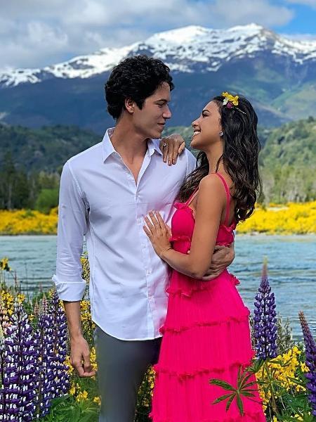 Mariana Rios com o namorado Lucas Kalil Aluan - Reprodução / Instagram