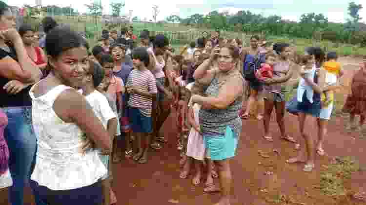 A comunidade Sertão Terra do Sol tem 477 famílias - Arquivo Pessoal